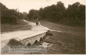 Westwood, Willow Row Bridge near Newbegin Pits, Beverley 1925