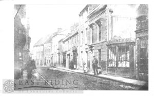Butcher Row from south east, Beverley 1880