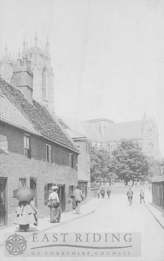 Keldgate, east end from south east, Beverley 1900s