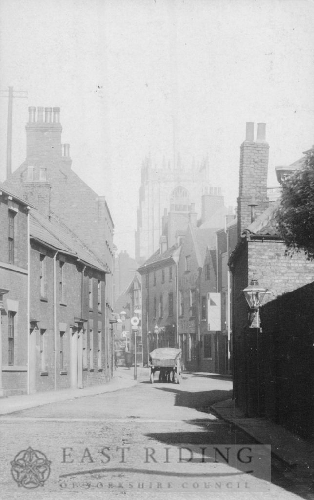 Lairgate, north end from south, Beverley 1900
