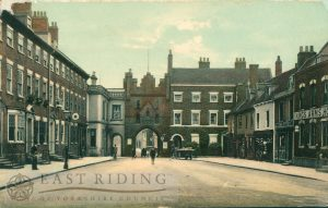 North Bar Within from south east, Beverley 1900