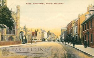 North Bar Within from north west, Beverley 1907