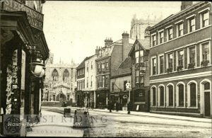 North Bar Within from south, Beverley 1910