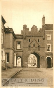 North Bar Within from south east, Beverley 1920s