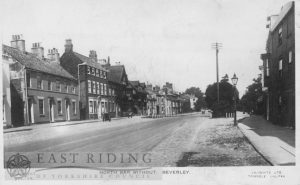 North Bar Without, south west end from west, Beverley 1900