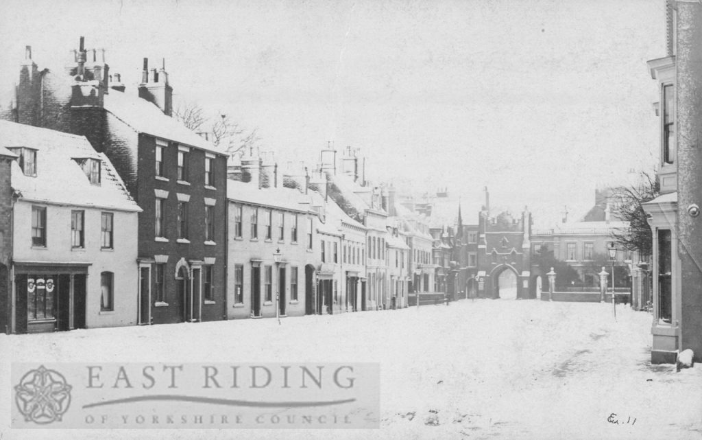 North Bar Without, south west end from west, Beverley 1900s