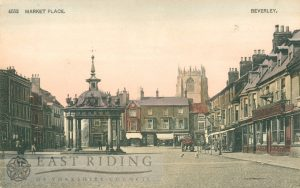 Saturday Market from south east, Beverley 1904