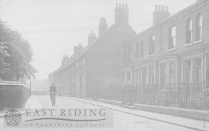 St John Street from north, Beverley 1904