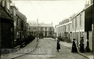 St Mary's Terrace from south east, Beverley 1900