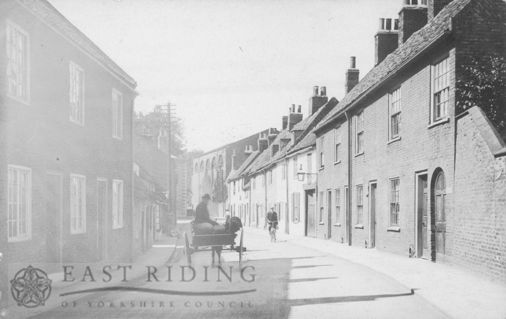 Walkergate, north end from south, Beverley 1900s