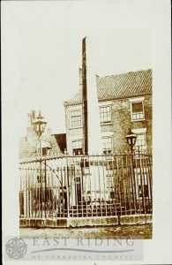 Wednesday Market, Obelisk, Beverley 1880