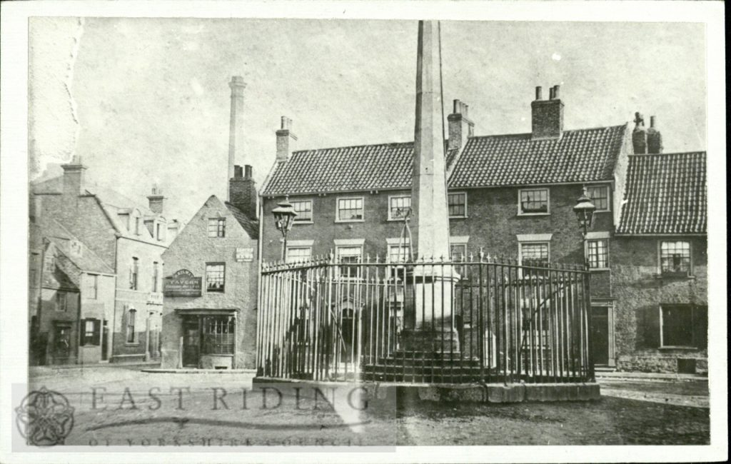 Wednesday Market from west, Beverley 1900