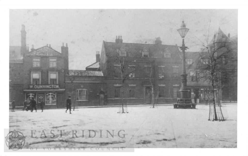 Wednesday Market from east, Beverley 1908