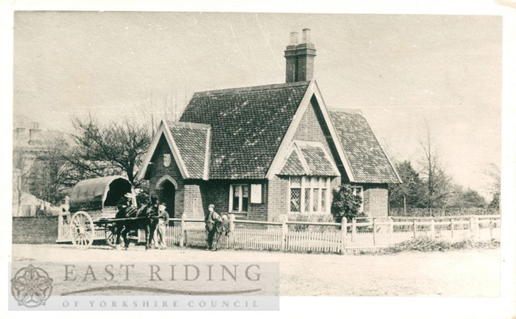Westwood Road gatehouse, Westwood, Beverley 1900