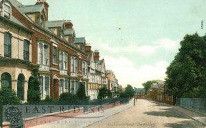 Westwood Road, Beverley 1904, tinted