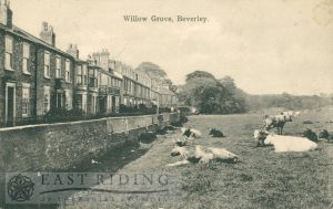 Willow Grove from east, Beverley 1910