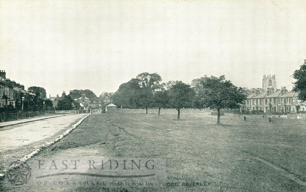 York Road, Westwood and Willow Grove from south west, Beverley 1900