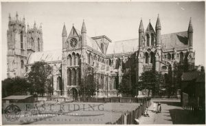Beverley Minster from south east, Beverley 1926