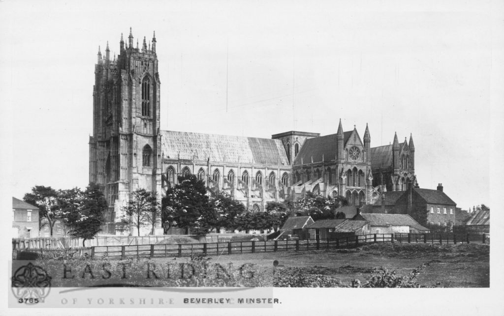 Beverley Minster from south west, Beverley 1946