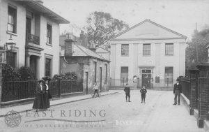 Baptist Chapel, Well Lane, Beverley 1909