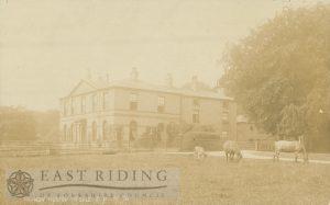 Tranby House, Tranby 1910