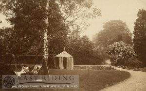 Tranby Lodge grounds, Tranby 1907