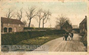 village street, Ulrome 1925