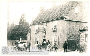 Dog and Duck Inn, Walkington  1900