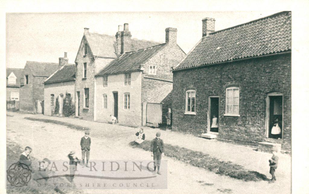 School Lane, Walkington  1890