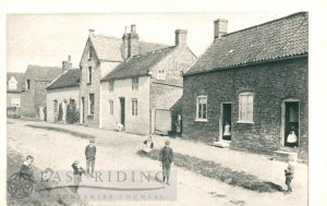 School Lane, Walkington  1890
