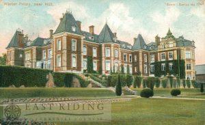 Warter Priory, Warter 1909