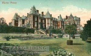 Warter Priory, Warter 1910