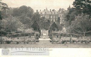 Warter Priory, Warter 1916
