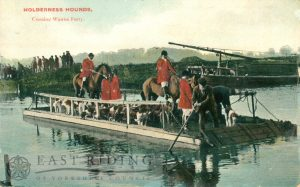 ferry, Holderness Hounds crossing, Wawne 1910