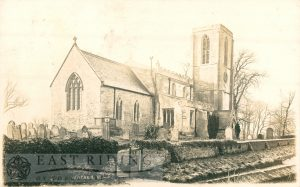 St Peter's Church from north east, Wawne 1907