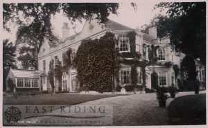 Welton Hall from south west, Welton 1920