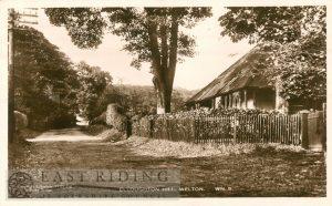 Elloughton Hill, Welton  1934