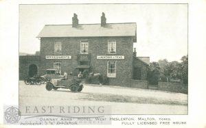 Dawnay Arms, West Heslerton 1920
