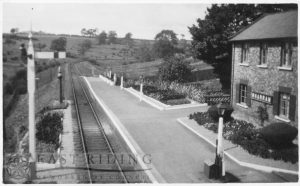 Railway Station from north west, Wharram-Le-Street 1930