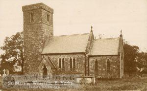 St Mary's Church from south east, Wharram-Le-Street 1900