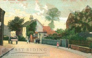 village street, Willerby 1905