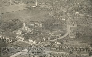aerial view from south east, Withernsea 1920