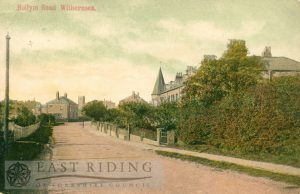 Hollym Road from south, Withernsea 1908