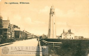 Lighthouse and Hull Road, Withernsea 1908