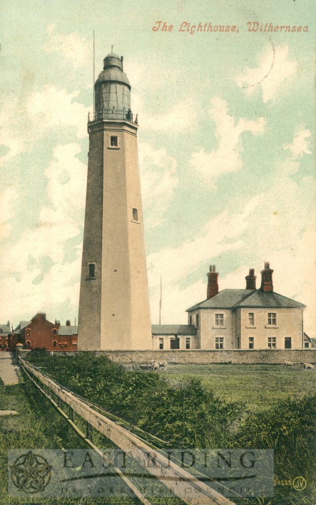 Lighthouse from west, Withernsea 1906
