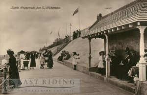 North Promenade from north, Withernsea 1916