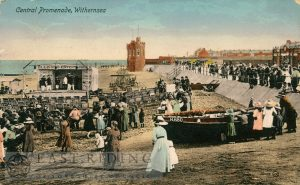 Promenade, central, Withernsea 1910