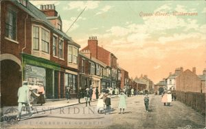 Queen Street (centre) from south east, Withernsea 1906