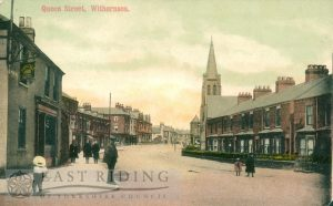 Queen Street North, from south east, Withernsea 1910