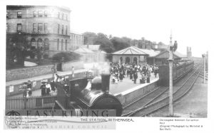 Railway Station, Withernsea c.1900s